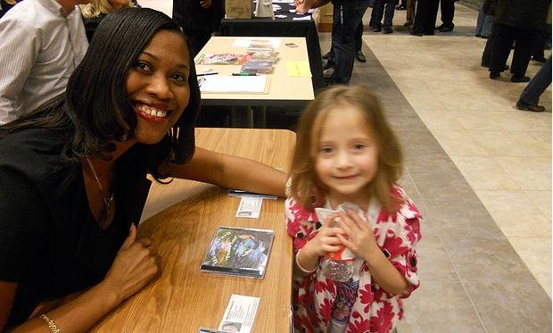 Michelle with fan1